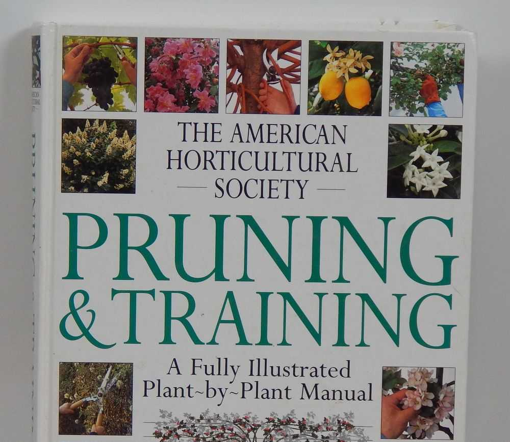 Pruning and training book